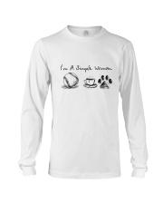 SOFTBALL COFFEE DOG Long Sleeve Tee thumbnail