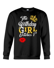 OCTOBER BIRTHDAY GIRL Crewneck Sweatshirt thumbnail