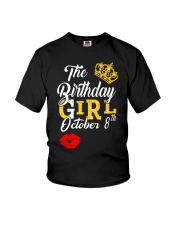 OCTOBER BIRTHDAY GIRL Youth T-Shirt thumbnail
