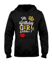 OCTOBER BIRTHDAY GIRL Hooded Sweatshirt thumbnail