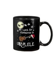 AII I WANT CHRISTMAS IS UKULELE Mug thumbnail