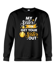 SOFTBALL MY SISTER Crewneck Sweatshirt thumbnail