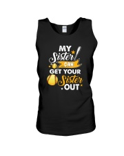 SOFTBALL MY SISTER Unisex Tank thumbnail