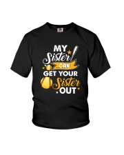 SOFTBALL MY SISTER Youth T-Shirt tile