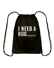 WINE HUG CHUAN Drawstring Bag thumbnail