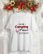 I AM THE CAMPING FRIEND Classic T-Shirt lifestyle-holiday-crewneck-front-2