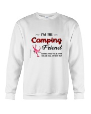 I AM THE CAMPING FRIEND Crewneck Sweatshirt thumbnail