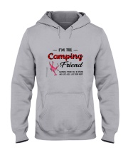 I AM THE CAMPING FRIEND Hooded Sweatshirt thumbnail
