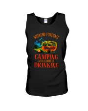 WEEKEND FORCAST CAMPING Unisex Tank thumbnail