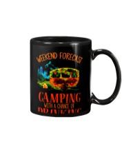 WEEKEND FORCAST CAMPING Mug thumbnail