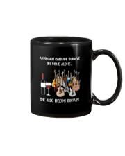 WOMAN WINE GUITAR Mug thumbnail