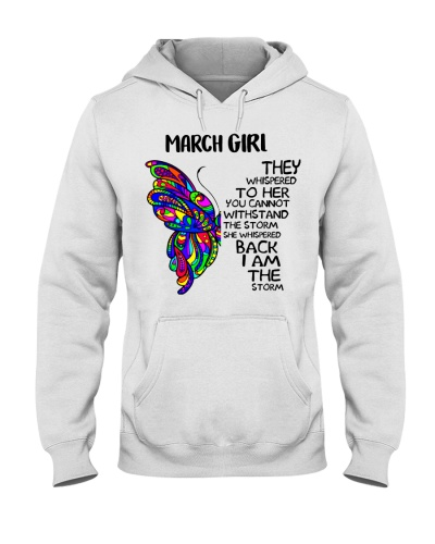 March GIRL - SHE WHISPERED BACK I AM THE STORM