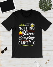 NOTHING BEER CAMPING Classic T-Shirt lifestyle-mens-crewneck-front-17