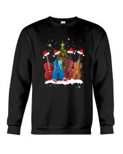 TREE CHRISTMAS CELLO Crewneck Sweatshirt thumbnail
