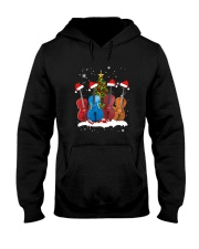 TREE CHRISTMAS CELLO Hooded Sweatshirt thumbnail