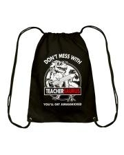 TEACHERSAURUS Drawstring Bag thumbnail