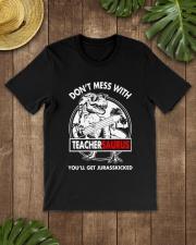 TEACHERSAURUS Classic T-Shirt lifestyle-mens-crewneck-front-18