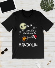 AII I WANT CHRISTMAS IS MANDOLIN Classic T-Shirt lifestyle-mens-crewneck-front-17