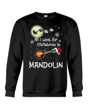 AII I WANT CHRISTMAS IS MANDOLIN Crewneck Sweatshirt thumbnail