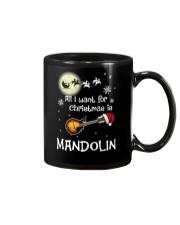 AII I WANT CHRISTMAS IS MANDOLIN Mug thumbnail