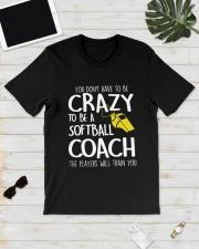 SOFTBALL COACH Classic T-Shirt lifestyle-mens-crewneck-front-17
