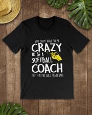 SOFTBALL COACH Classic T-Shirt lifestyle-mens-crewneck-front-18