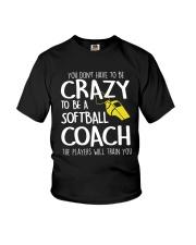 SOFTBALL COACH Youth T-Shirt thumbnail