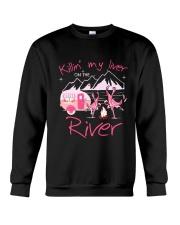 MY LIVER CAMPING Crewneck Sweatshirt thumbnail