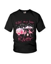 MY LIVER CAMPING Youth T-Shirt thumbnail