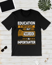 EDUCATION ACCORDION Classic T-Shirt lifestyle-mens-crewneck-front-17