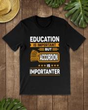 EDUCATION ACCORDION Classic T-Shirt lifestyle-mens-crewneck-front-18
