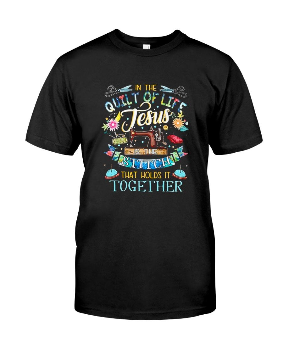 QUILT JESUS Classic T-Shirt