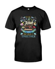 QUILT JESUS Classic T-Shirt front