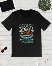 QUILT JESUS Classic T-Shirt lifestyle-mens-crewneck-front-17