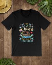QUILT JESUS Classic T-Shirt lifestyle-mens-crewneck-front-18
