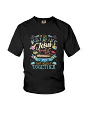 QUILT JESUS Youth T-Shirt thumbnail