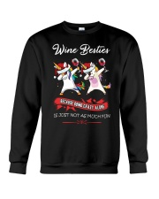 WINE BESTIES Crewneck Sweatshirt thumbnail