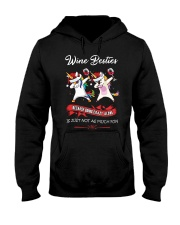 WINE BESTIES Hooded Sweatshirt thumbnail