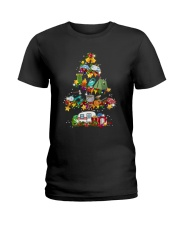 CAMPING TREE Ladies T-Shirt thumbnail