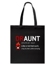 DRAUNT CAMPER Tote Bag thumbnail
