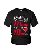 MOM WINE Youth T-Shirt thumbnail