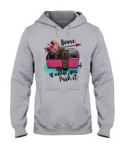 HOME IS WHERE YOU PARK IT Hooded Sweatshirt thumbnail