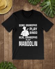 REAL GRANDPAS PLAY MANDOLIN Classic T-Shirt lifestyle-mens-crewneck-front-18