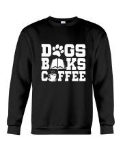 DOG BOOK COFFEE Crewneck Sweatshirt thumbnail