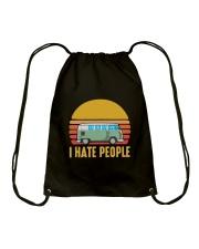 RV I HATE PEOPLE Drawstring Bag thumbnail