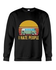 RV I HATE PEOPLE Crewneck Sweatshirt thumbnail