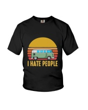 RV I HATE PEOPLE Youth T-Shirt thumbnail