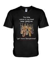 GET MORE SAXOPHONES V-Neck T-Shirt thumbnail