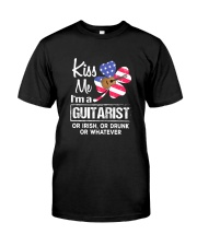 KISS ME GUITAR Classic T-Shirt front