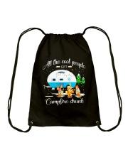 CAMPFIRE DRUNK Drawstring Bag thumbnail
